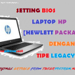 Setting Bios Laptop HP untuk Proses Instalasi