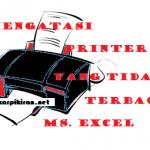 Mengatasi Printer yang tidak Terbaca Ms. Excel