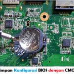 Mengganti Baterai CMOS pada Laptop ASUS A43S