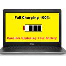 Baterai Laptop Terindikasi Full, Tetapi Tidak Menyimpan Daya