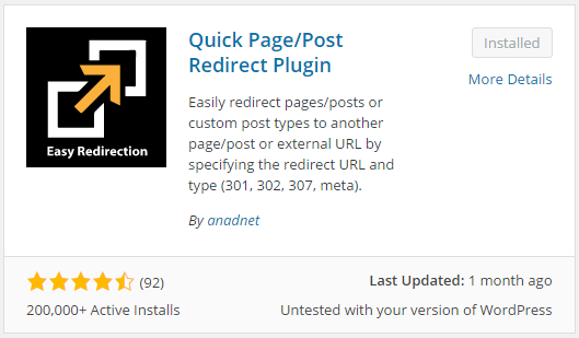 Quick Redirects