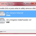 Tips Aman Cabut USB Disk dengan USB Disk Ejector