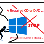 Drive device driver is Missing saat Instalasi Windows