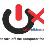 Bahaya Mematikan Komputer melalui Tombol Power