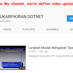 Langkah Mudah Upload Video di Youtube