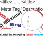 Optimasi Judul dan Deskripsi sebagai SEO Website