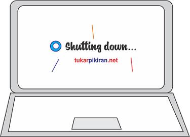 Mengapa Laptop Shutdown Ketika di Charger ?